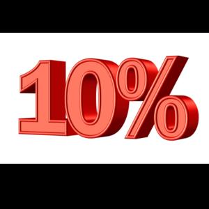 Immagine sconto 10%